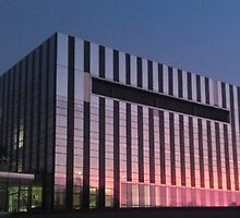Corby Cube by Sunset by Crouchy1986