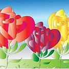 Roses 2 by IrisGelbart
