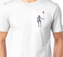 Battlestar Galactica Cylon Centurion with Red Balloon Unisex T-Shirt