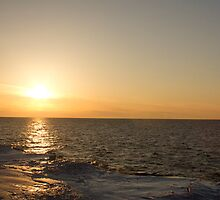 Sunset Over Lake Ontario by Raymond Holt