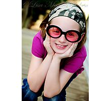 Goofy Girl Photographic Print