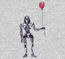 Cylon Centurion with Red Balloon One Piece - Long Sleeve