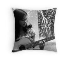 Synchronicity B&W Throw Pillow