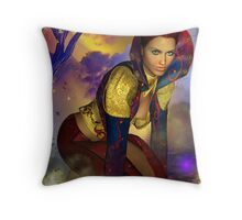 Edge of Reason  Throw Pillow