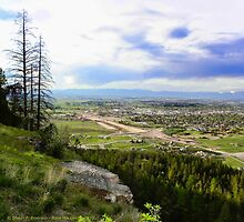 Flathead Valley Overlook by rocamiadesign