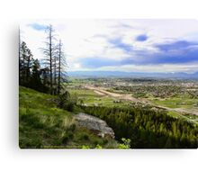 Flathead Valley Overlook Canvas Print