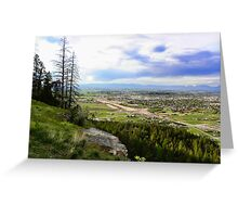 Flathead Valley Overlook Greeting Card
