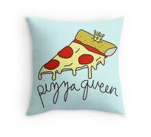 Pizza Queen ♥ Sassy/Trendy/Hipster/Tumblr Meme Throw Pillow