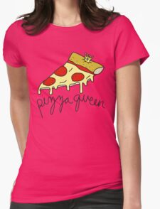 Pizza Queen ♥ Sassy/Trendy/Hipster/Tumblr Meme Womens Fitted T-Shirt