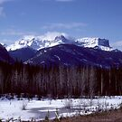Jasper National Park Early Spring 1979 by Allen Lucas