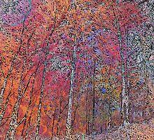 Lakeside Trees by webetilin