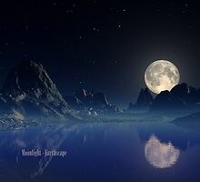 Moonlight - Earthscape by AlienVisitor