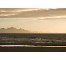 Golden Beach Sunset Photographic Print