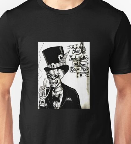 Voodoo Rhythm and Bayou Blues Unisex T-Shirt