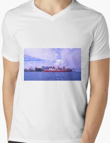 Long On Heritage Deep In Pride Mens V-Neck T-Shirt