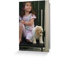 ♥~ The look of love and pride ~ ♥ Greeting Card