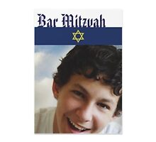 Bar mitzvah invitations by GARRY Ek