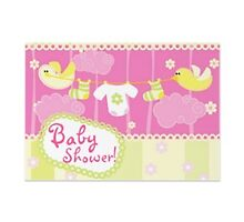 Baby shower invites by Buford Burows