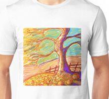 The 3 Pumpkins of Fall  Unisex T-Shirt