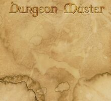 Dungeon Master - Gaming Inspired  by aegisdesigns