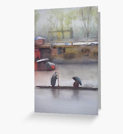 In the city and in the country Greeting Card