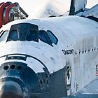 STS-133 Tow Back, Discovery by Per Hansen