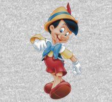 Pinocchio One Piece - Long Sleeve