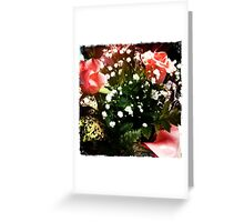 iPhone Bouquet - 5 years Service Greeting Card