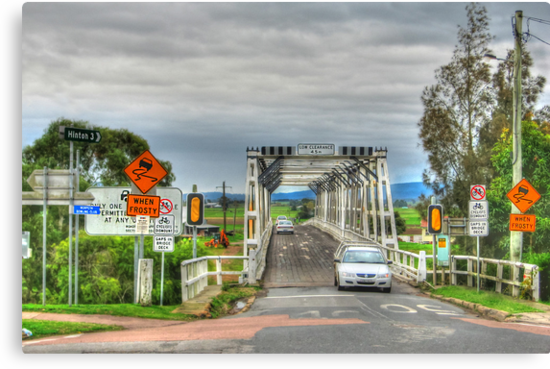 Confusing Road Signs, Morpeth, NSW by Sharon Brown