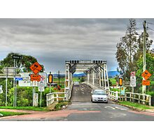 Confusing Road Signs, Morpeth, NSW Photographic Print