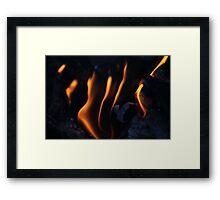 Campfire 4 Framed Print