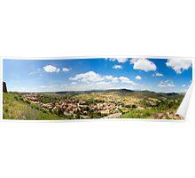 Castell de Cardona Panorama Poster