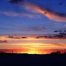 Prairie Sunset by Rhonda Blais