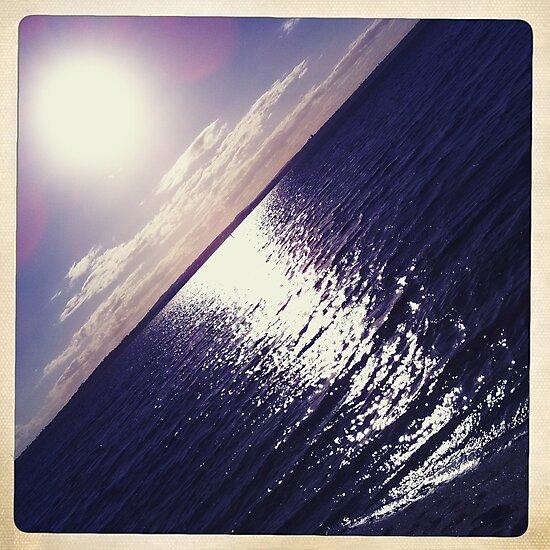 Hipsta Gradient Series- Sunset ripple effects No.1 by LJ_©BlaKbird Photography