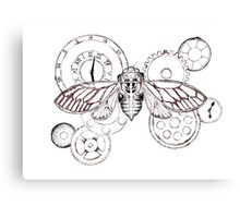 Clockwork Cicada Canvas Print