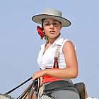 WOMAN HORSE RIDER SPAIN by kfbphoto