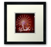 Fairess Floss Framed Print