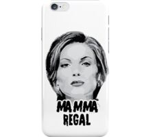 Once Upon a Time - Mamma Regal iPhone Case/Skin