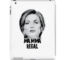 Once Upon a Time - Mamma Regal iPad Case/Skin
