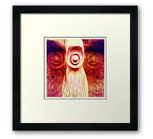 Who Who. Framed Print