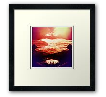 Gates of Hell? Framed Print