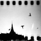 palace sky, phnom penh, cambodia by tiro