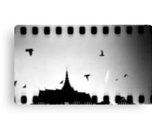 palace sky, phnom penh, cambodia Canvas Print