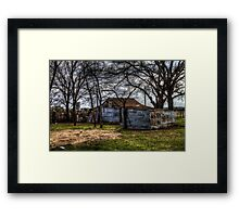 A Home for the Tinman Framed Print