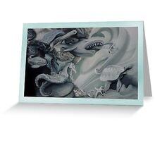 Aquatic Fantasia. Greeting Card
