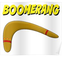 Boomerang (comic style) Poster
