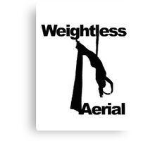 Weightless Aerial Company Canvas Print