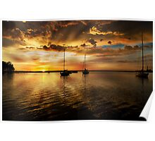 Macquarie sunrise Poster
