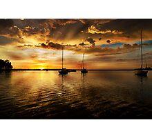 Macquarie sunrise Photographic Print