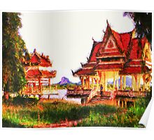 Thai Temples Poster